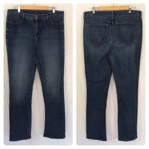 NYDJ Straight Leg Denim Jeans 18